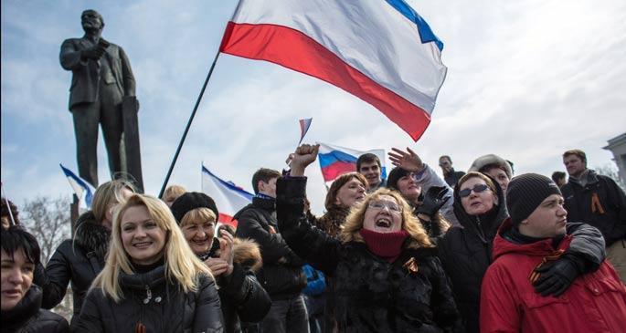 Kırım İzlenimleri 1: Kırım'da 'Rus baharı'