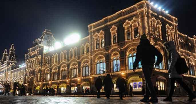 Kızıl Meydan'da ilk defa Noel panayırı