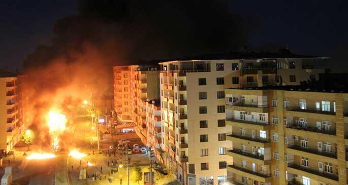 Kobanê eylemlerine saldırılarda 16 kişi öldü