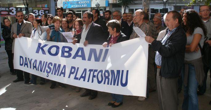 Kobanê ile Dayanışma Platformu oluşturuldu