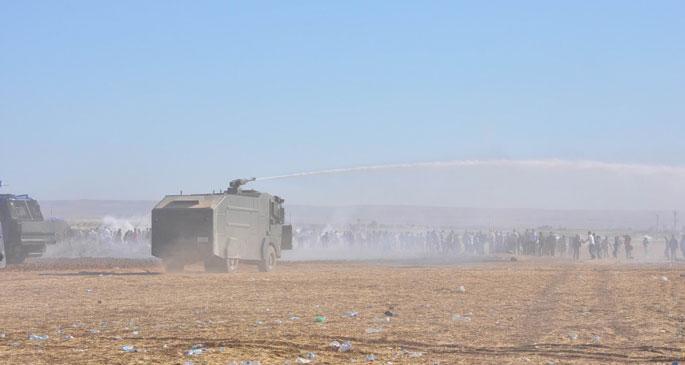 Kobanê sınırında bir saldırı daha