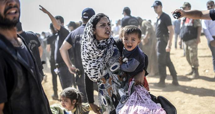 Kobane'de yürek sesleri
