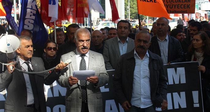 Ankara'da yardım koridoru açılsın talebi