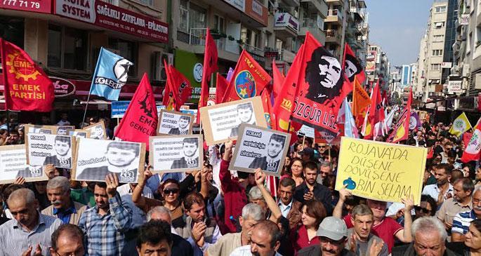 Kobanê\'ye destek eylemleri devam ediyor