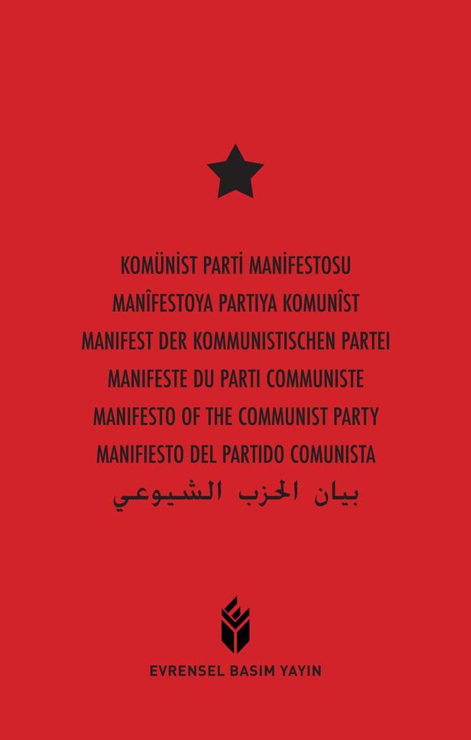 Komünist Manifesto 7 dilde yayımlandı