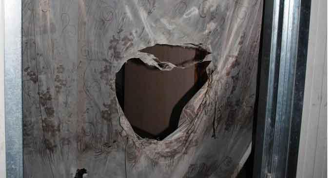 Konteyner kentte patlama: 2 yaralı