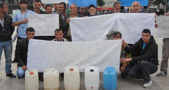 Köylülerin su isyanı
