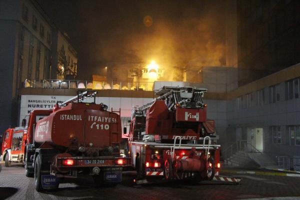 Kültür merkezinde yangın paniği