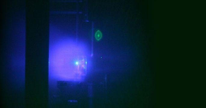 Laboratuvarda süpernova patlaması