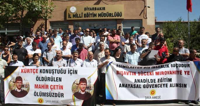 Lice\'de Kürtçe okul gerginliği