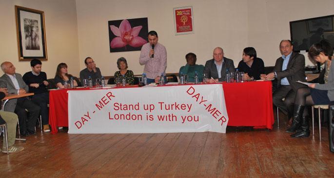 Londra'da, Türkiye halklarıyla dayanışma kampanyası kuruldu