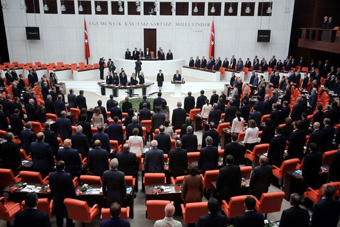 Meclis Genel Kurulu kınama konuşmalarıyla açıldı
