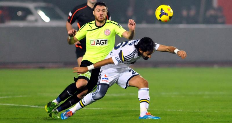 Medical Park Antalyaspor- Fenerbahçe: 1-2