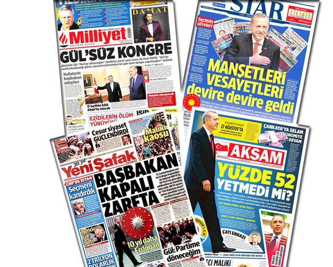 Medyada Gül krizi ve mesaj verme savaşı