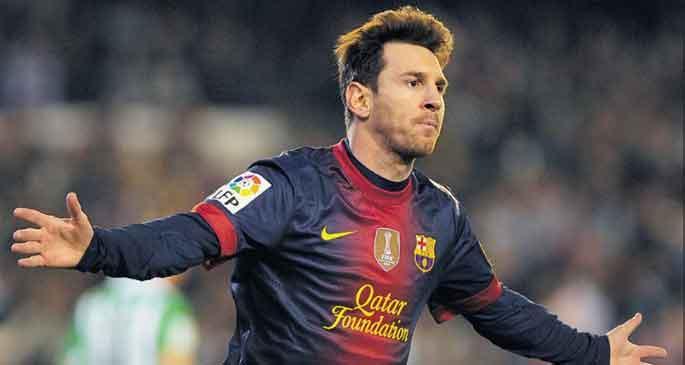 Messi'den ilk mesaj