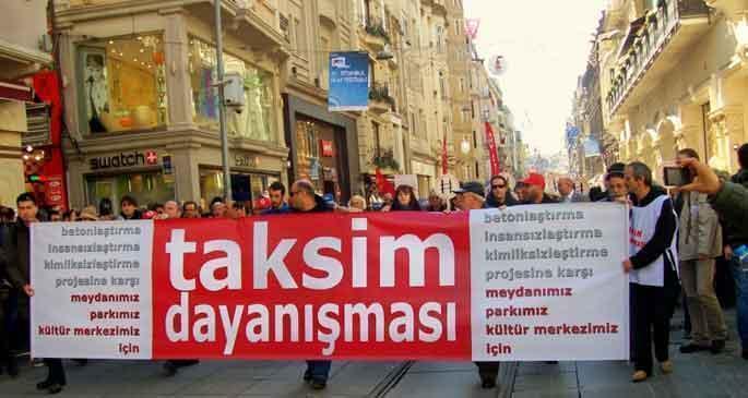 Mimarlardan Gezi desteği