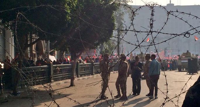 Mısır'da devrimin 3. yılında kaos vardı