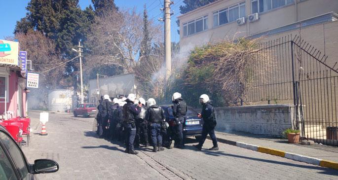 Muhabirimiz polis saldırısına uğradı