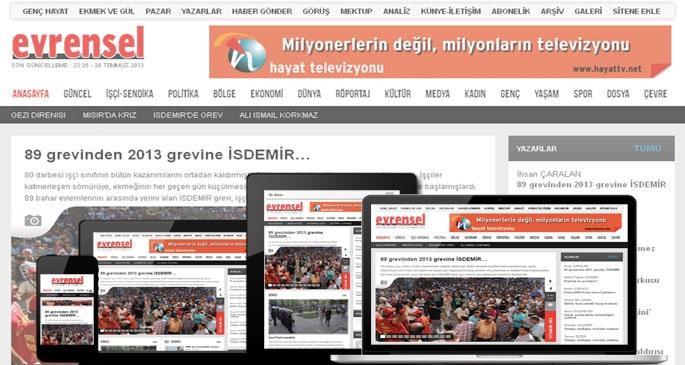 Evrensel.net yenilendi