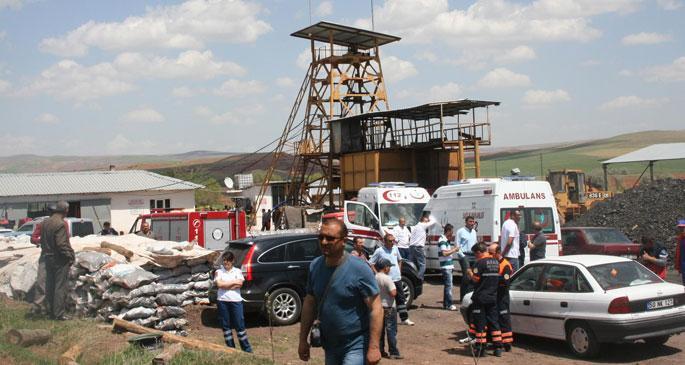 Nevşehir\'de maden ocağında göçük: 1 ölü 12 yaralı