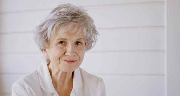 Nobel Edebiyat Ödülü Alice Munro\