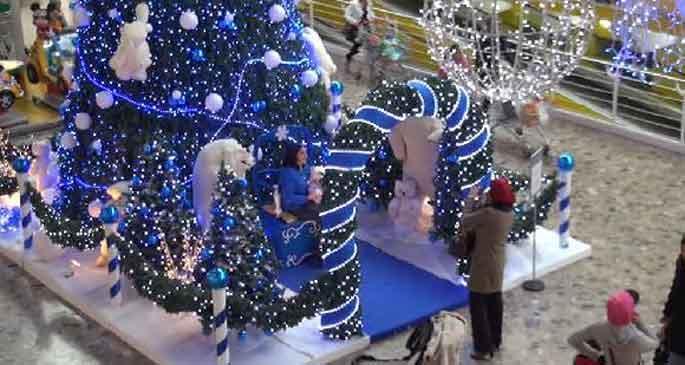 Noel hazırlığı erken başladı
