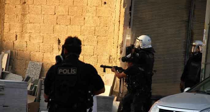 Nusaybin sınırında polis müdahalesi