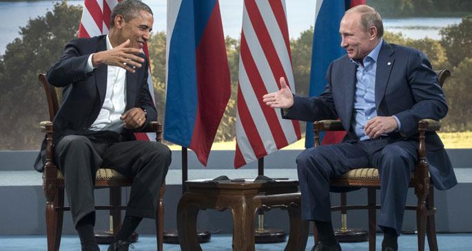 Obama ile Putin, Ukrayna, Suriye ve IŞİD\