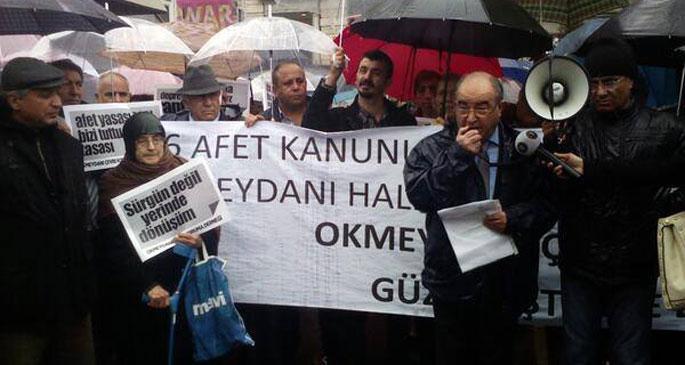 Okmeydanı halkı Ahmet Misbah Demircan'ı uyardı