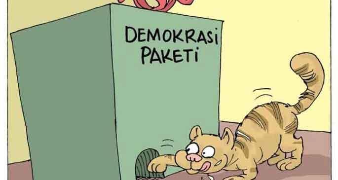 Olmayan demokrasiye yama