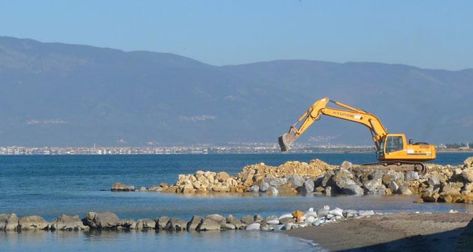 Ören taş sahilleri!