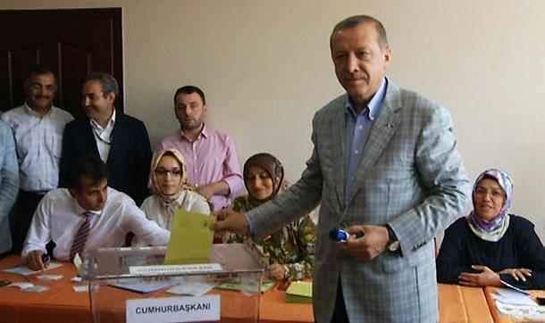 Oyunu kullanan Erdoğan 'Hayırlı olsun' dedi