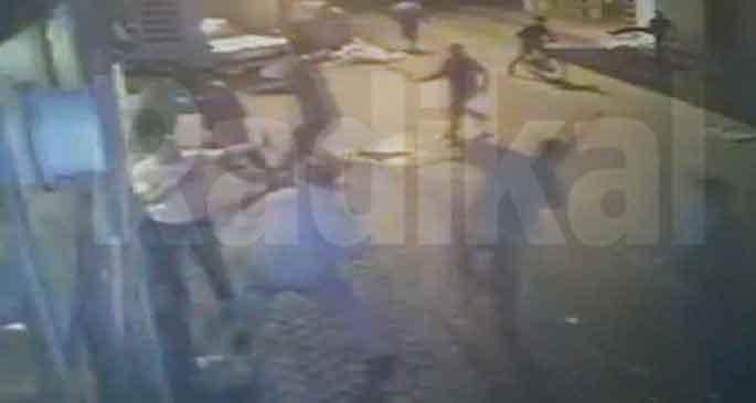 Polis, Ali İsmail\'den önce esnafa saldırmış