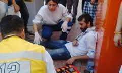 Polisten 'Kaskıma kafa attılar' iddiası
