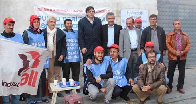 Punto işçilerine uluslararası destek