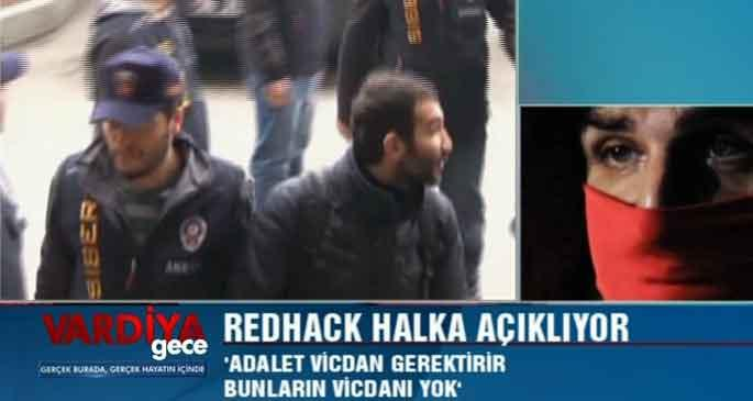 RedHack Hayat Televizyonu\'ndan seslendi