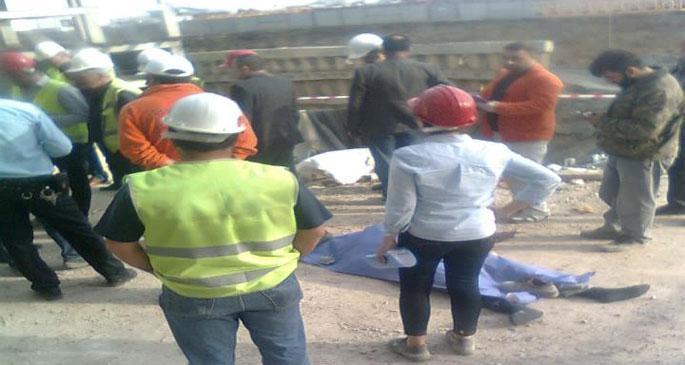 Rezidans inşaatında 7. kattan düşen işçi hayatını kaybetti