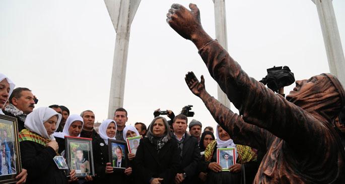 Roboski anıtının açılışı yapıldı