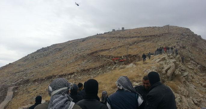 Roboski sınırına tel örgü çekilmesini halk durdurdu