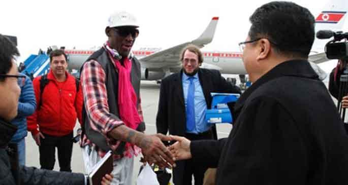 Rodman yeniden Kuzey Kore'de