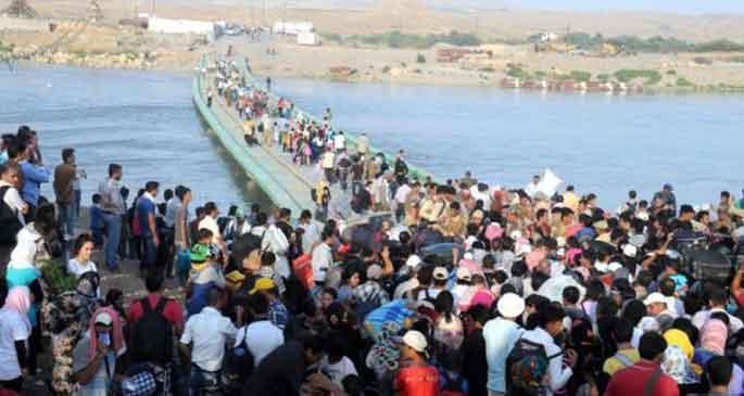 Rojava'dan göç edenler evlerine geri dönüyor