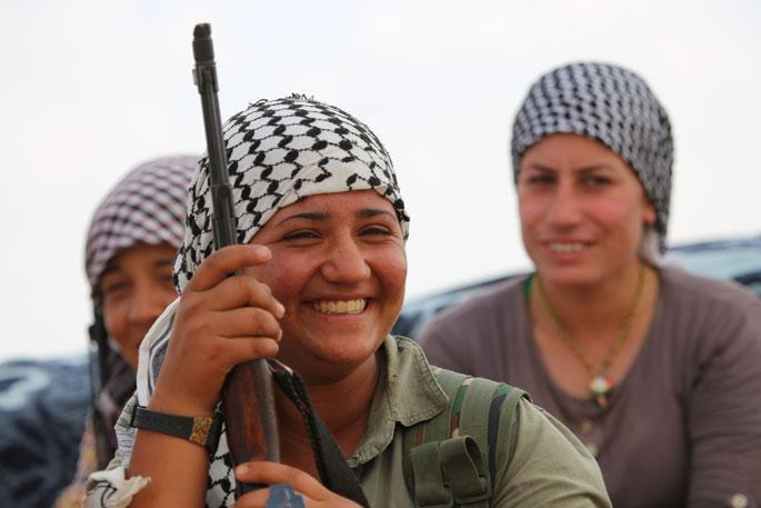 Rojavalı kadınlar Ortadoğu için mücadele edecek