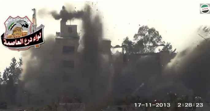Şam yakınlarındaki saldırıda 31 Suriye askeri yaşamını yitirdi