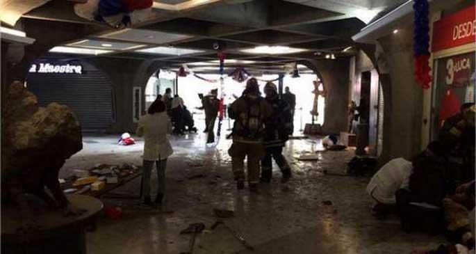 Şili\'de metro istasyonunda patlama: 9 yaralı