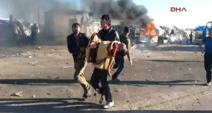 Sınır kapısı yakınında büyük patlama 24 ölü