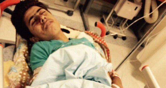 Sınırdışı edilen 16 yaşındaki Kobanêlinin ayağına bomba geldi