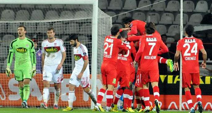 Sivasspor 0 - Medical Park Antalyaspor 3