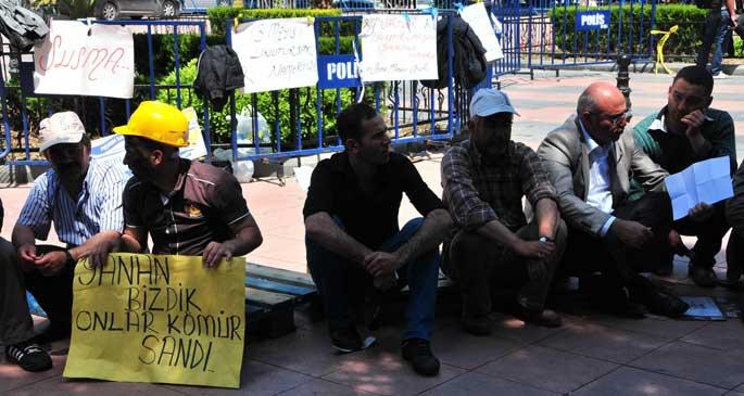 Somalı işçiler Meclise gidiyor