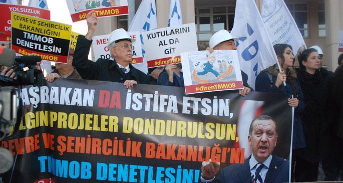 Soma'yı denetlemeyen AKP, TMMOB'yi bakanlıklara bağladı