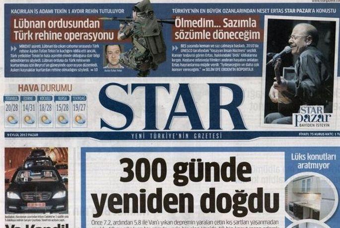 Star, Akyol ve Laçiner'in yazılarına son verdi